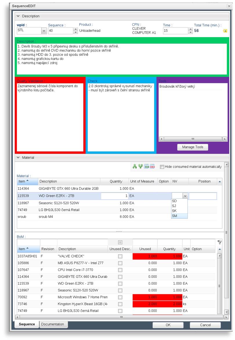 Operational Method Sheets – Method of Procedure Template